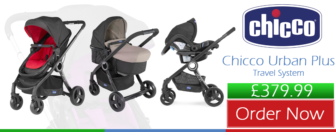 Buy Chicco Urban Plus Travel System online in the UK at the best price.