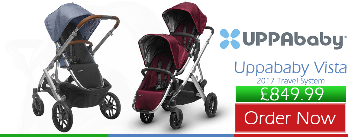 Buy Uppababy Vista 2017 Dennison & Henry online at the best price. Uppababy prams & Strollers UK & ROI delivery. Payment plans available. Baby pram store in Belfast.