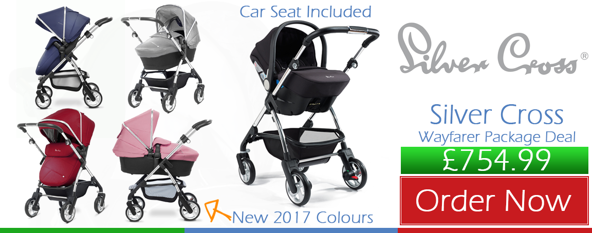 Buy Silver Cross Wayfarer Travel System online at the best price. Baby Silver Cross Wayfarer Travel System UK & ROI delivery. Payment plans. Online baby pram store UK.