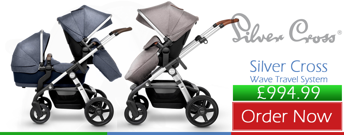 Buy Silver Cross Wave Travel System online at the best price. Baby Silver Cross Wave Travel System UK & ROI delivery. Payment plans. Online baby pram store UK.