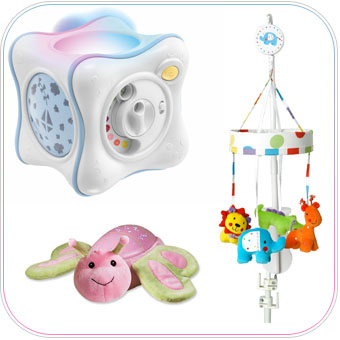 Which best baby light ups & mobiles to buy? A parent check list for all newborn baby needs.