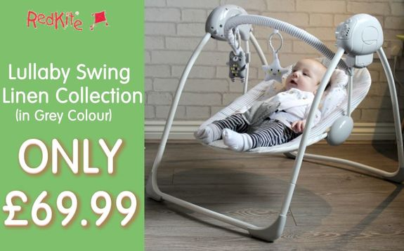 Buy Red Kite Lullaby Swing at Kids Store. Payment plans available. Free UK and ROI shipping.