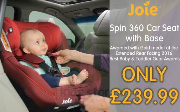 Buy Joie Spin 360 Baby Car Seat at Kids Store. Payment plans available. Free UK and ROI shipping.