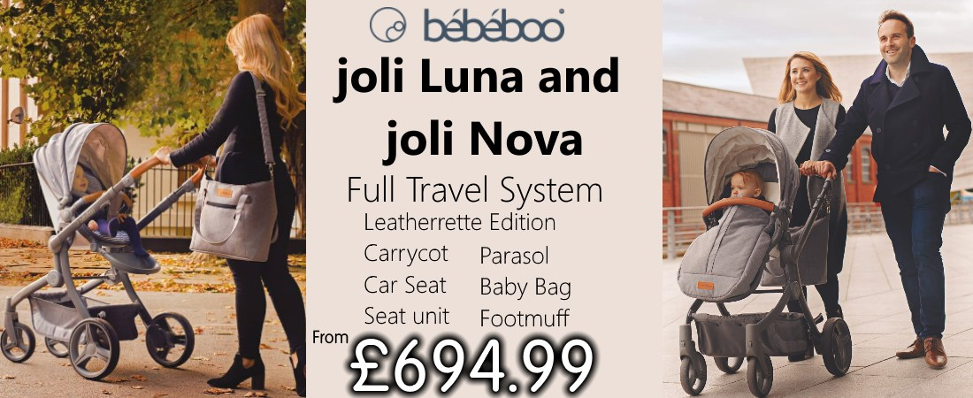 Buy Bebeboo Joli online at the best price. Uk and Roi delivery. Payment plans available.