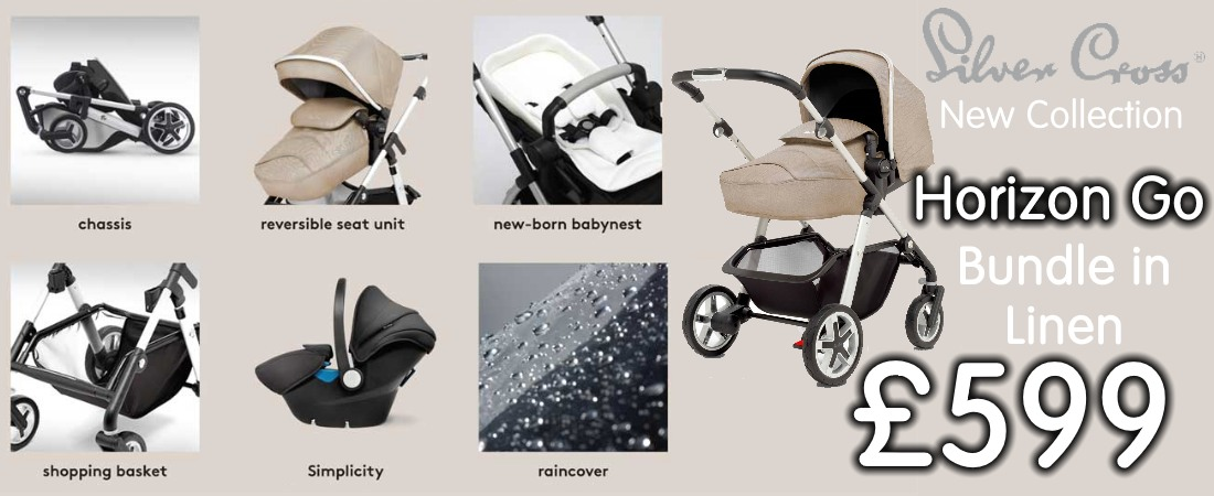 buy now online silver cross new horizon go travel system bundle linen colour. uk and roi delivery. payment plans available. pram store in belfast, uk