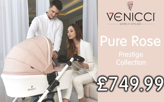 Buy venicci pure rose at Kids Store. Payment plans available. Free UK and ROI shipping.