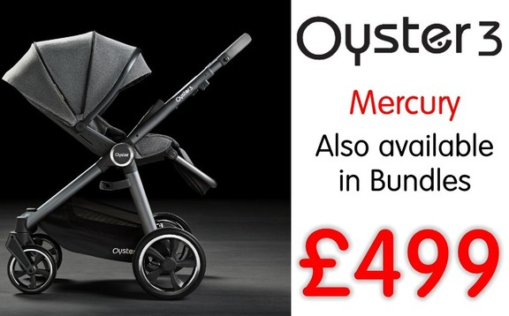 Buy oyster 3 mercury city, mercury mirror online at the best price. Cheap travel system sale UK & ROI delivery. Payment plans. Online baby pram store UK.