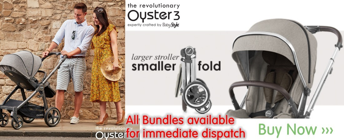 buy now online the new babystyle oyster 3 colours. oyster 3 bundles. uk and roi delivery. payment plans available.