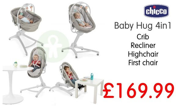 Buy chicco baby hug cheap at Kids Store. Payment plans available. Free UK and ROI shipping.