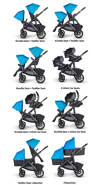 Uppababy Vista 2017 Pushchair Amp Carrycot Henry